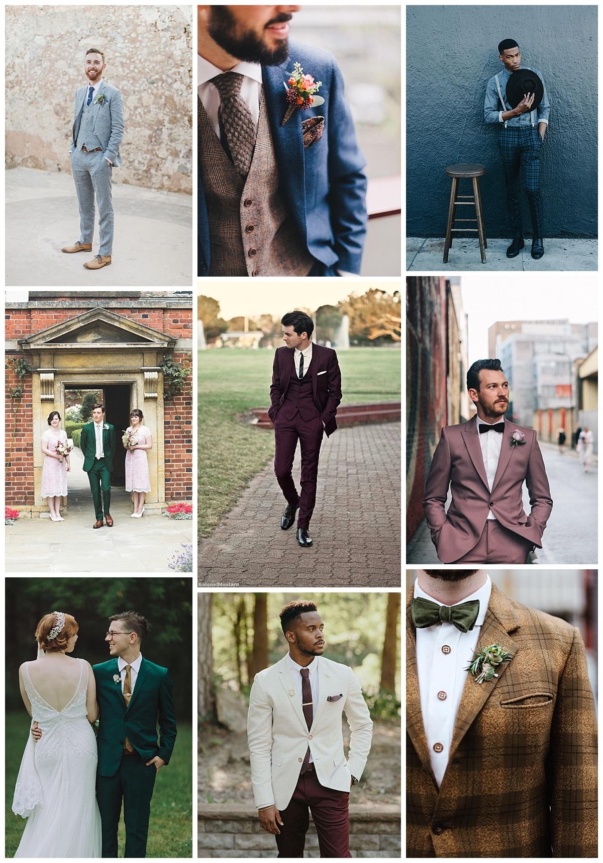 Farba do svadobného looku preniká najmä prostredníctvom doplnkov bfbecef38e8